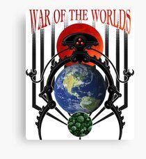War of the Worlds Martian Spacecraft Canvas Print