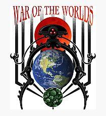 War of the Worlds Martian Spacecraft Photographic Print