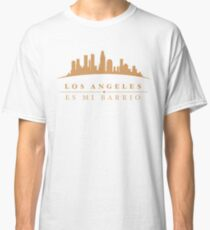 Los Angeles Es Mi Barrio Skyline Classic T-Shirt