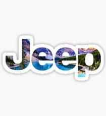 Jeep Canyon Sticker