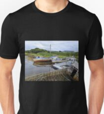 Milk Harbour In The Shadow Of Muckish Unisex T-Shirt