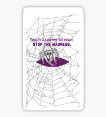 Teach a Spider to Read Sticker