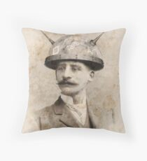 Dr Lampwicke's Amazing Mind Machine Throw Pillow