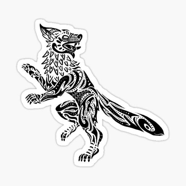 God-eater Fenrir Sticker