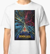 2001 A Space Odyssey - Movie Poster Classic T-Shirt