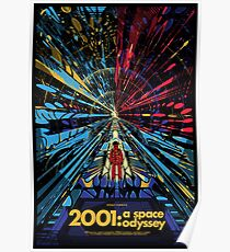 2001 A Space Odyssey - Movie Poster Poster
