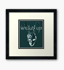 Darko Wake Up Bunny Mask Framed Print