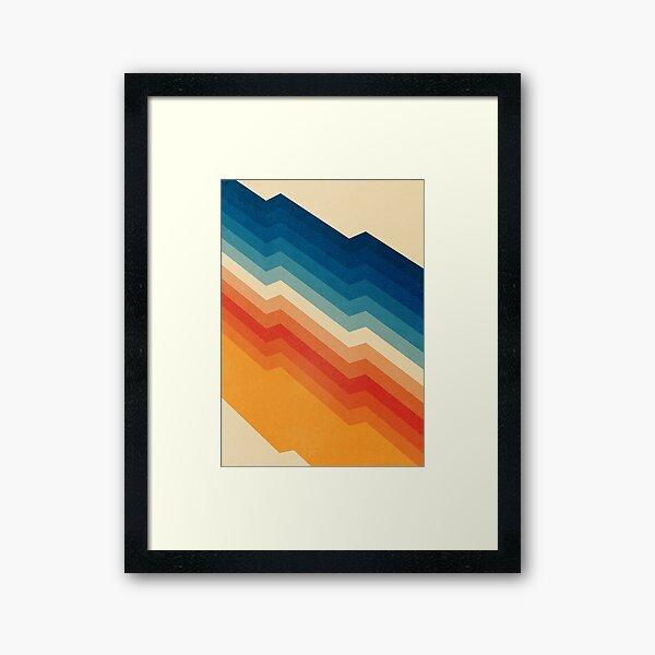Barricade Framed Art Print