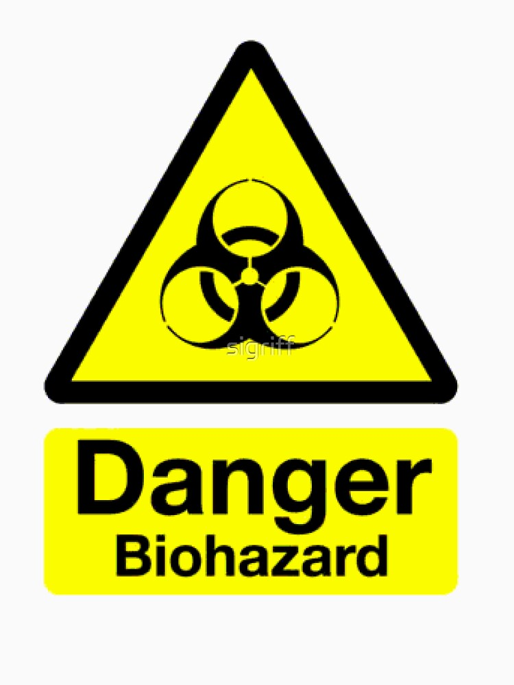 Bio Hazard : T Shirt by Simon Griffiths by sigriff