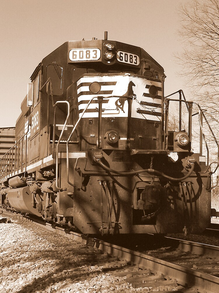 Norfolk Southern 6083 sd402  by brianhbradley