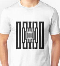 Black and White Grafic Tunnel T-Shirt