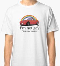 Camiseta clásica No soy gay ¡Solo amo a mi Miata!