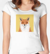 Mr. Fox Women's Fitted Scoop T-Shirt