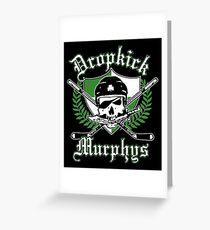 dropkick murphys Greeting Card