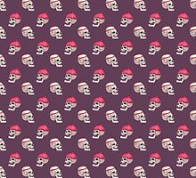 Skull Cakes I by Mark Facey