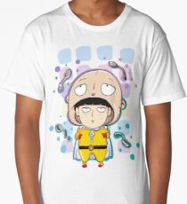 Mob Psycho and One Punch Man Long T-Shirt