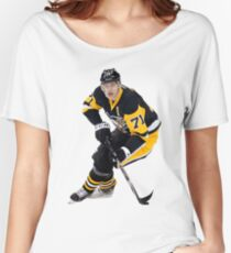 Evgeni Malkin Pittsburgh Penguins   Women's Relaxed Fit T-Shirt