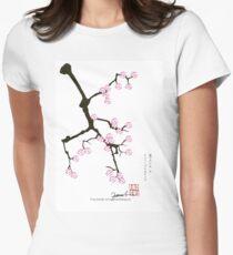 Sakura 7 from Tony Fernandes Women's Fitted T-Shirt