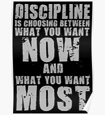 DISCIPLINE Is Choosing Poster