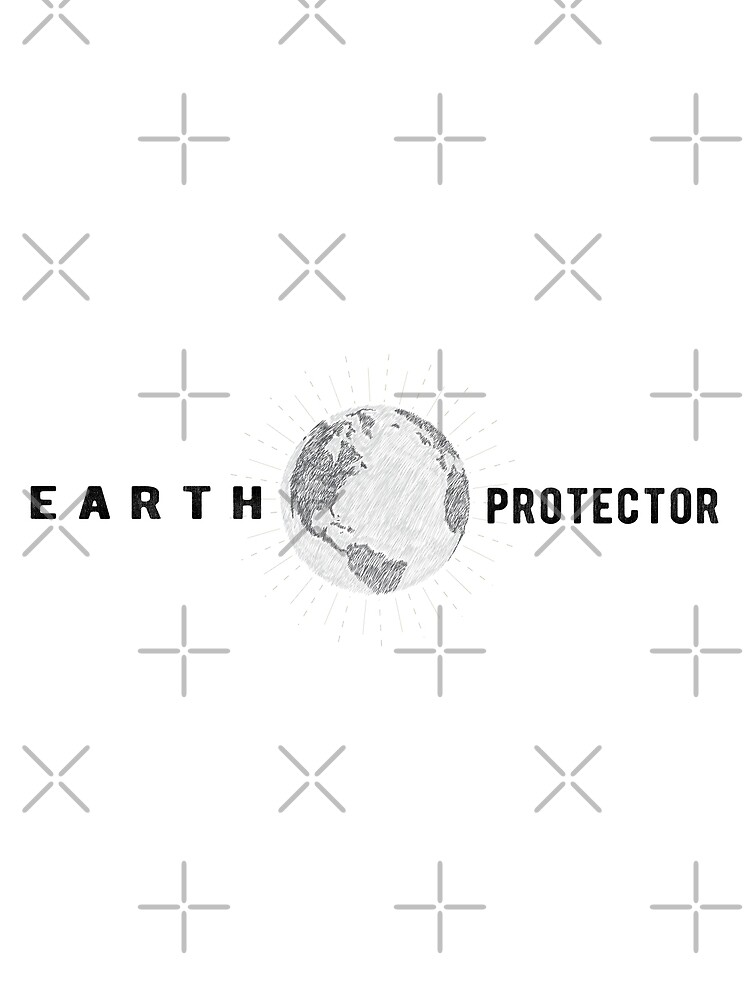 Earth Protector - Scribbled Earth by jitterfly