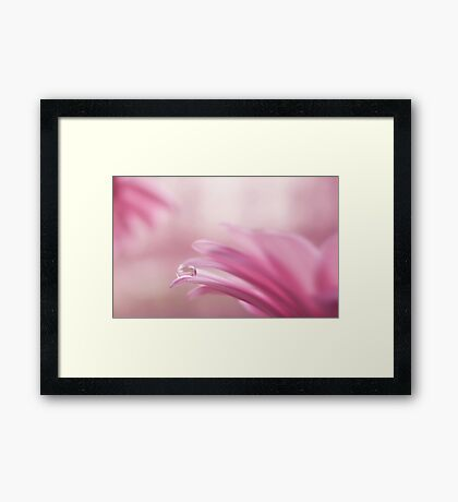life....love and live Framed Print