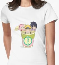 Naruto Shippuden Womens Fitted T-Shirt