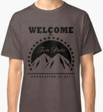 Twin Peaks Paramount Logo Classic T-Shirt