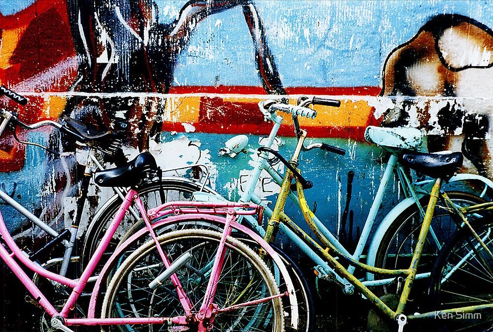 Bikes Amsterdam by Kenart