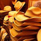 Cowboy Hats by Judy Vincent