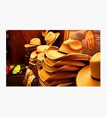 Cowboy Hats Photographic Print