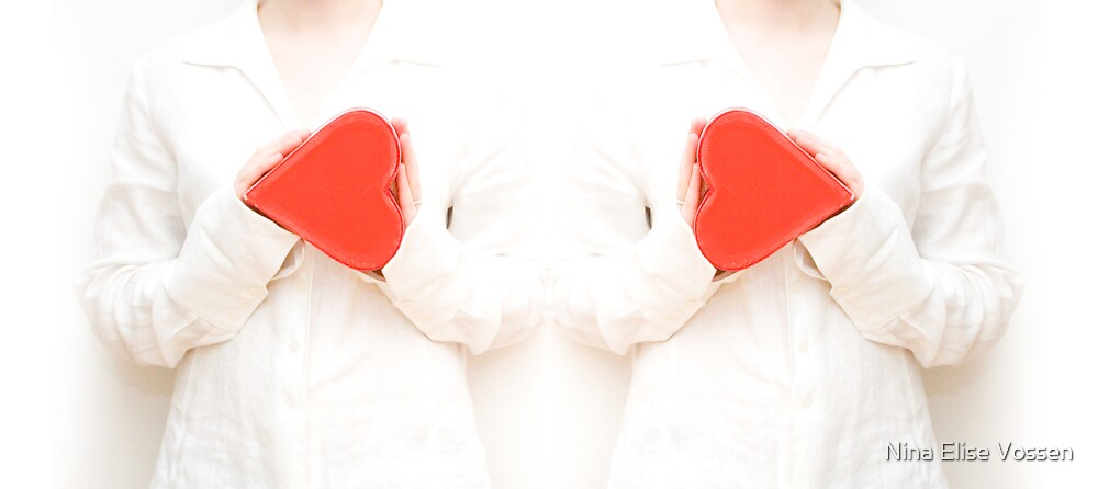 Young heart for love. by Nina Elise Vossen