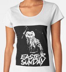 Easter Sunday Black and White Women's Premium T-Shirt