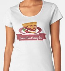 Twin Peaks Cherry Pie Women's Premium T-Shirt