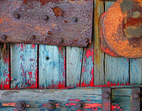 Blue Shunting Wagon by Kenart
