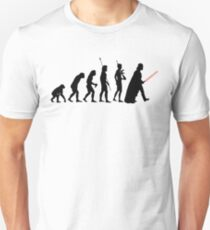 Dark side of Evolution Unisex T-Shirt