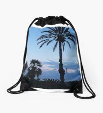 Palms in Nice Drawstring Bag