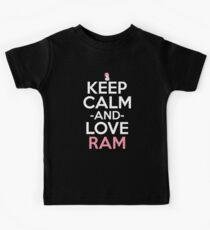 Ram Inspired Anime Shirt Kids Tee