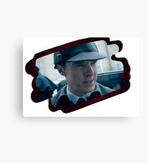 Holmes and the hat Canvas Print