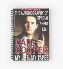 Twin Peaks Dale Cooper Book Spiral Notebook