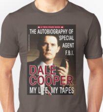 Twin Peaks Dale Cooper Book Unisex T-Shirt