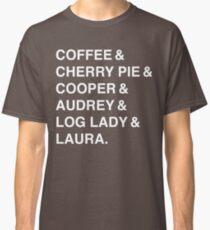 Twin Peaks Coffee & Cherry  Classic T-Shirt