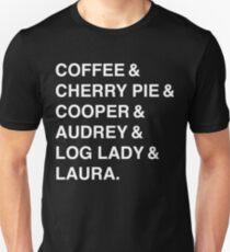 Twin Peaks Coffee & Cherry  Unisex T-Shirt