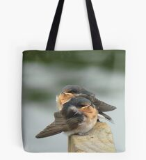 We'd Welcome An Insect Or Two!! - Welcome Swallows - NZ Tote Bag