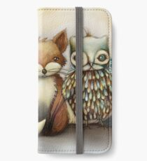 fox and owl iPhone Wallet/Case/Skin