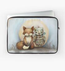 fox and owl Laptop Sleeve
