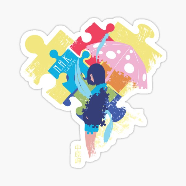 welcome to the nhk stickers redbubble