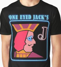 Twin Peaks One Eye Jacks Graphic T-Shirt