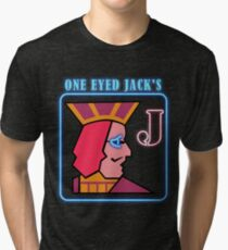 Twin Peaks One Eye Jacks Tri-blend T-Shirt