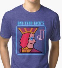 Twin Peaks One Eye Jacks Tri-blend T-Shirt