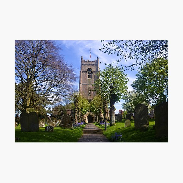 St Michael and All Angels, Highworth , Wiltshire uk Photographic Print